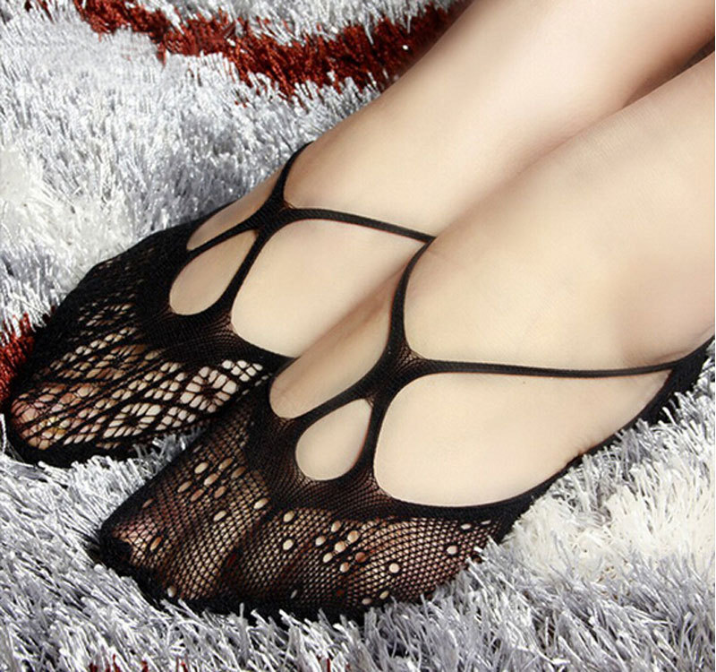 2015-Lace-fishnet-SOCKS-Footies-Peds-Slipper-No-Show-Assorted-Lace-Print-Slippers-WOMEN-ankle-socks
