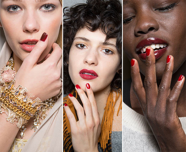 fall_winter_2015_2016_nail_trends_red_nail_polish
