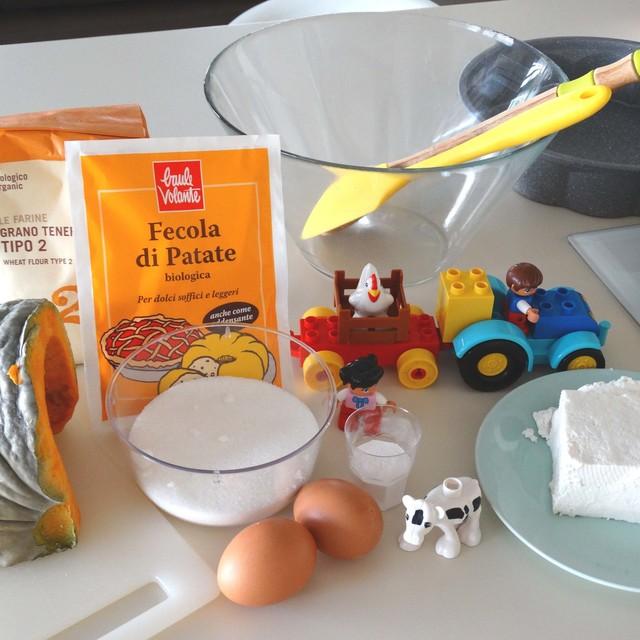 FACILE E BUONA: TORTA RICOTTA & ZUCCA