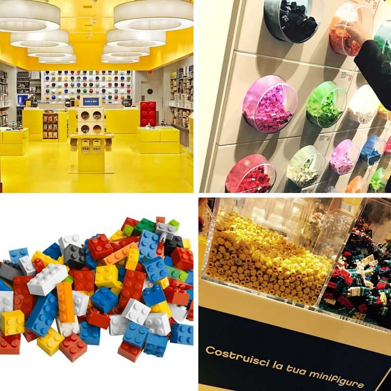 Novità:apre il primo LEGO Store in Italia