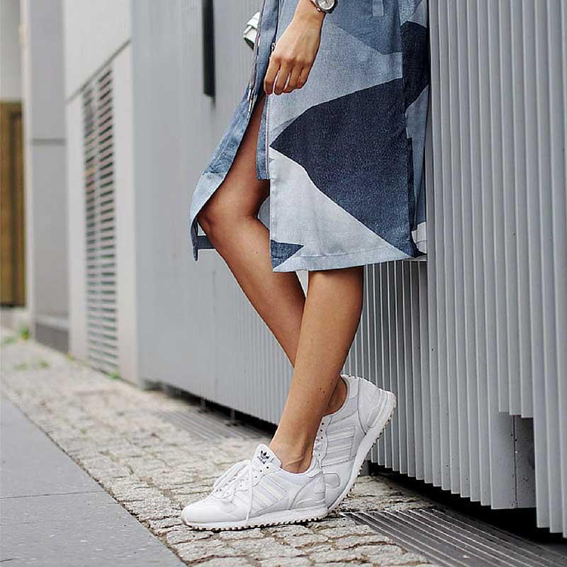 Sneakers bianche : come mantenerle sempre pulite