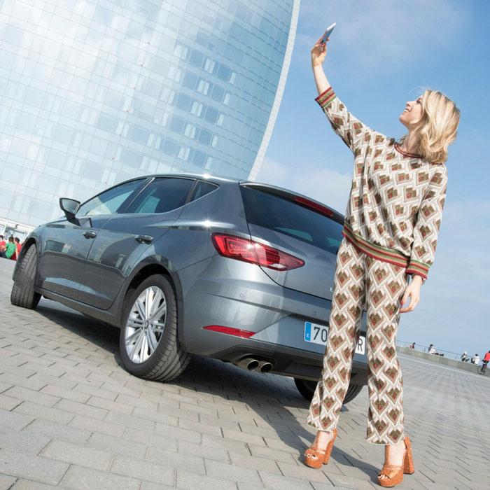 Scoprendo Barcellona con nuova SEAT Leon