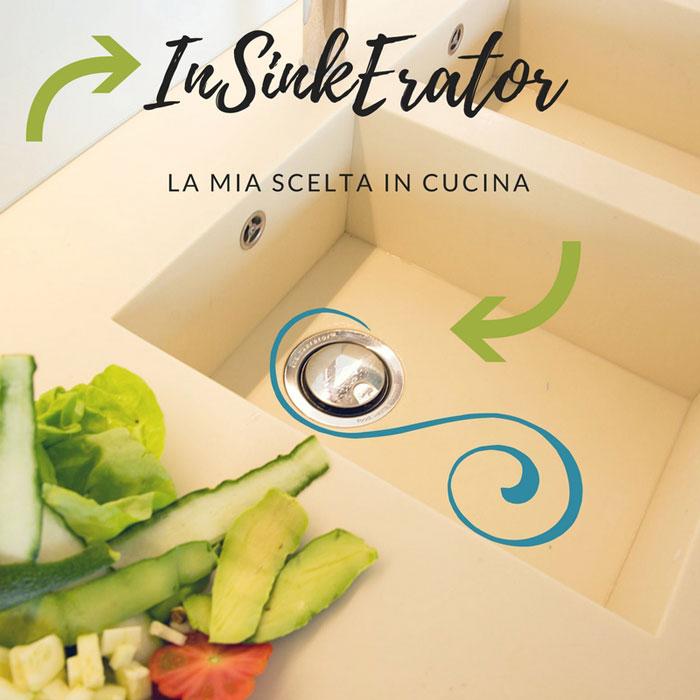 InSinkErator: il bello del dissipatore alimentare.