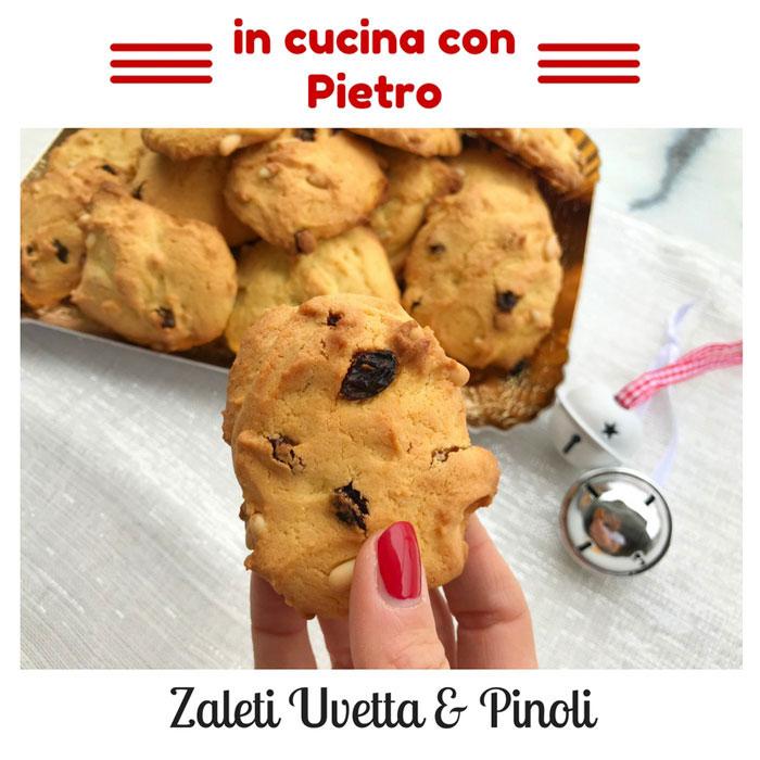 I deliziosi (e semplicissimi) Zaleti Uvetta&Pinoli
