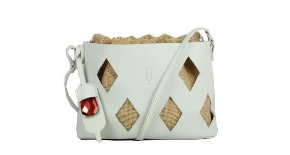 Quarzovivo borsa bianca