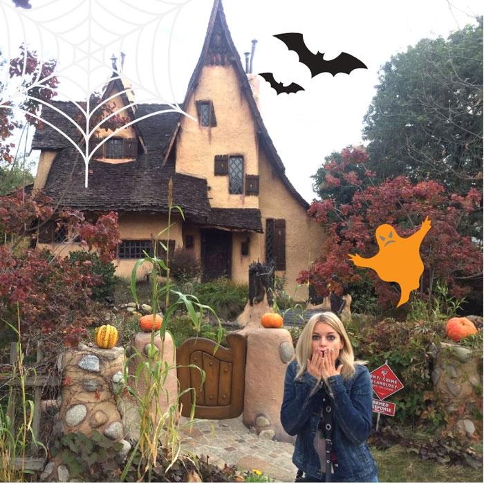 La casa di Halloween e i miei dolcetti per la festa