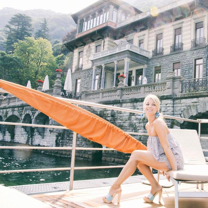 Ponti di primavera : il lago di Como