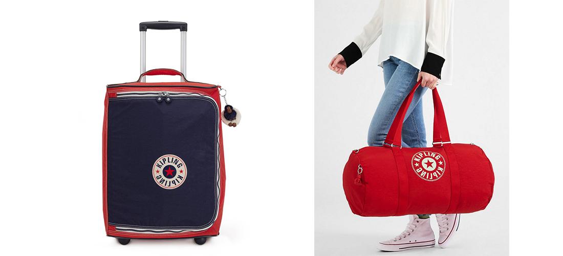 Il viaggio è passione, la borsa è amore: Kipling unisce le due!